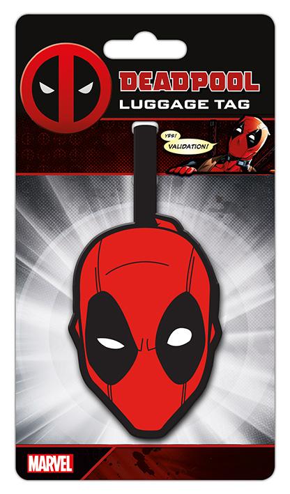 Marvel Deadpool Poggyászcímke