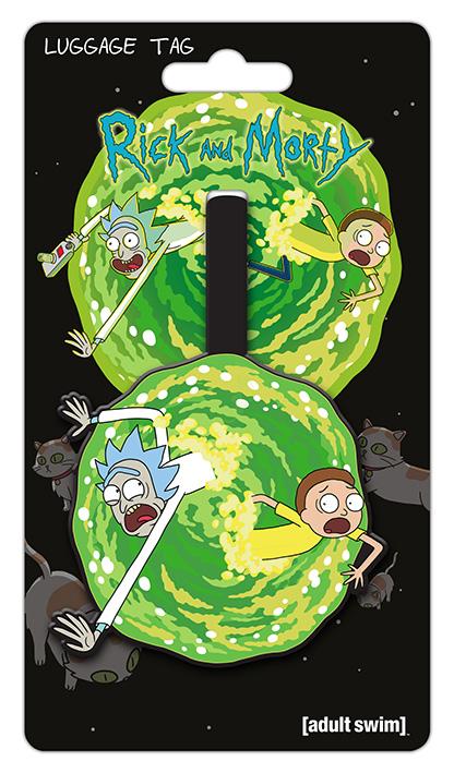 Rick and Morty Poggyászcímke