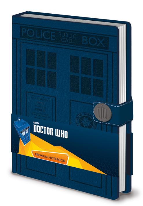 Dr Who jegyzetfüzet