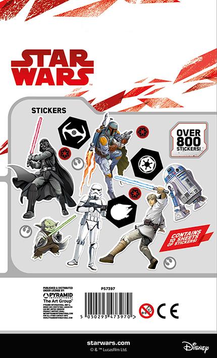tar Wars (Classic) - 800 Darabos Matrica Készlet