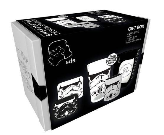 Star Wars Ajándékcsomag (Stormtrooper) – Bögre & Pohár & Poháralátét