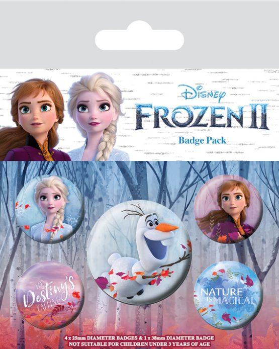 frozen 2 kitűzőszett
