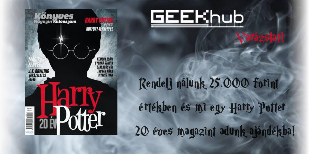 20 éves a Harry Potter