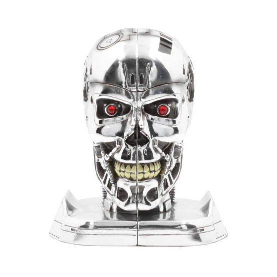 Terminator Koponya Könyvtámasz