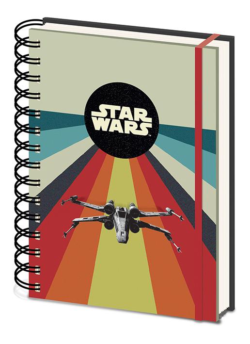 Star Wars jegyzetfüzet