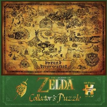 The Legend of Zelda Hyrule Map - Puzzle
