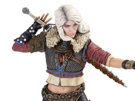 The Witcher - Ciri (2nd Edition) 20 cm - Szobor