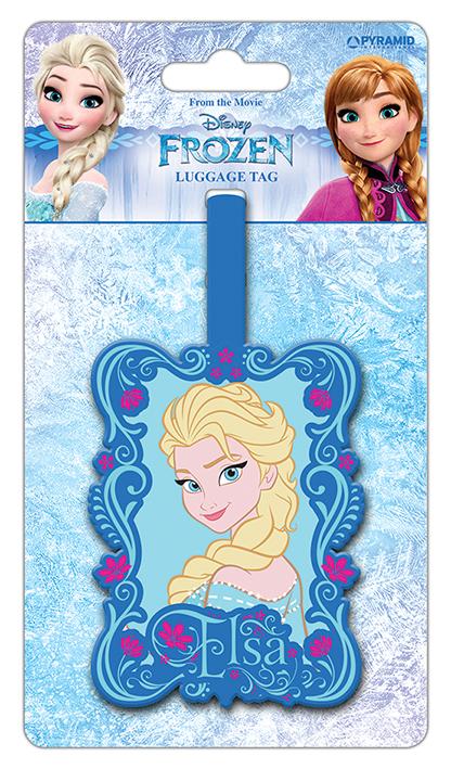 Disney Jégvarázs poggyászcímke
