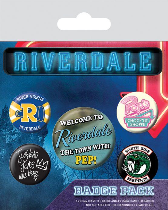 riverdale kitűzőszett