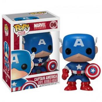 captain america funko pop marvel