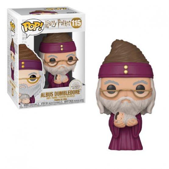 Harry Potter Dumbledore Baby Harry