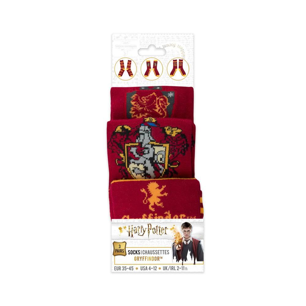 Harry Potter Gryffindor Zokni Készlet