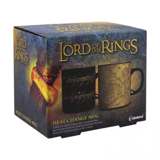 Gyűrűk Ura (Lord of The Rings) Hőre Változó Óriás Bögre