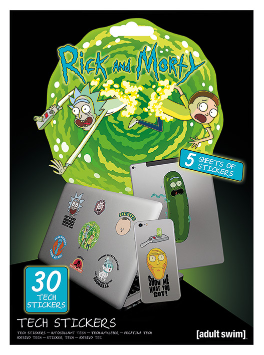 rick and morty kütyümatrica