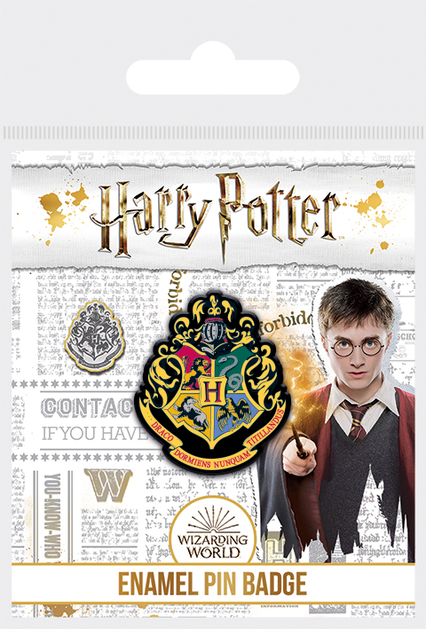 Harry Potter fém kitűző