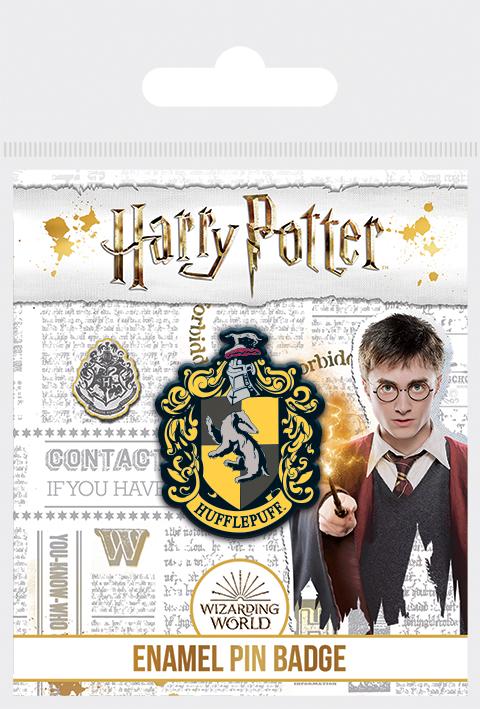 Harry Potter Hugrabug fém kitűző