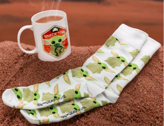Star Wars ajándék bögre zokni