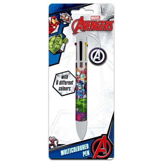 marvel avengers többszínű toll