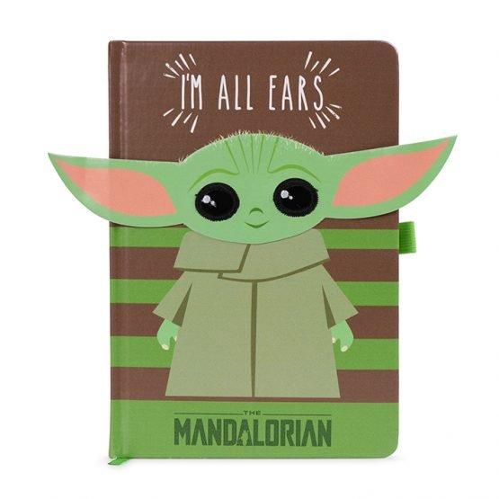 Mandalorian The Child jegyzetfüzet