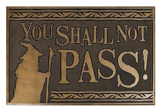 lotr You shall not pass lábtörlő