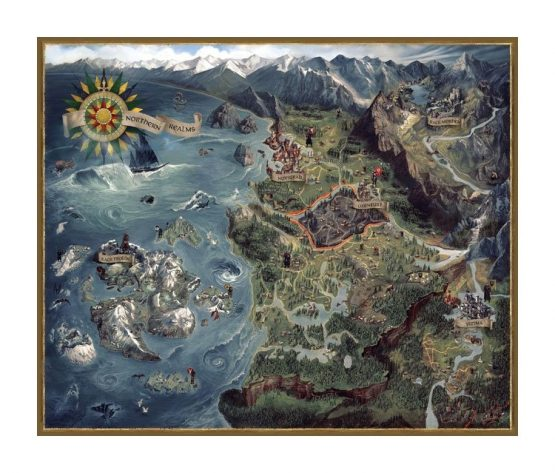 The Witcher World Map Puzzle