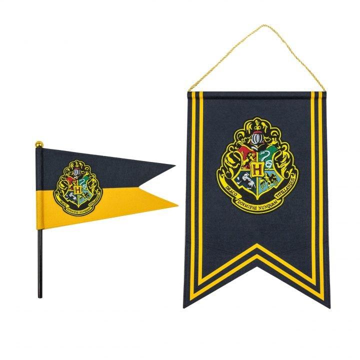 Harry Potter Hogwarts Zászlókészlet