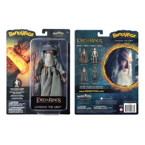 Lord of the Rings: Gandalf Bendyfig Figura