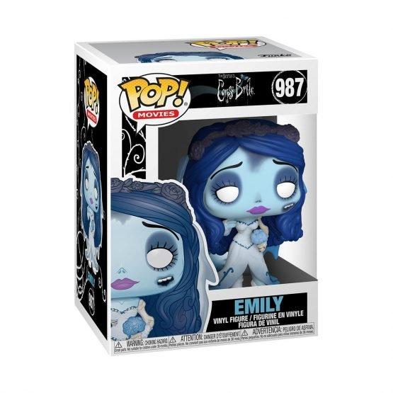 Funko POP! Corpse Bride Emily Figura 10 cm