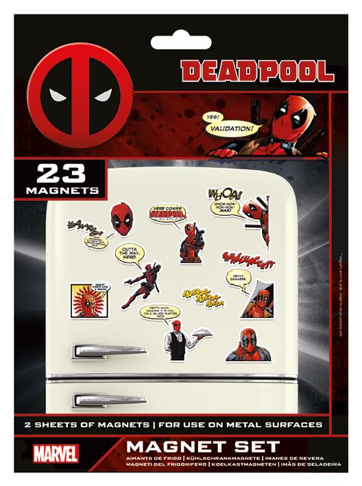 Deadpool hűtőmágnes