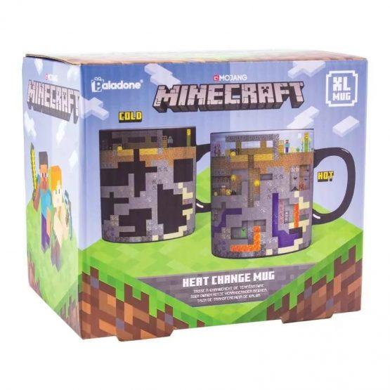 Minecraft Hőre Változó Óriás Bögre