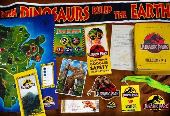 Jurassic Park Üdvözlőcsomag - Exkluzív Gyűjtői válogatás