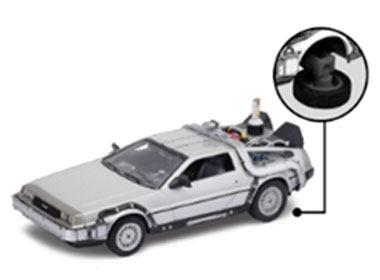 "Vissza a jövőbe (Back to the Future) ´81 DeLorean LK Coupe Modell 1:24 - ""Repülő"" Modell"
