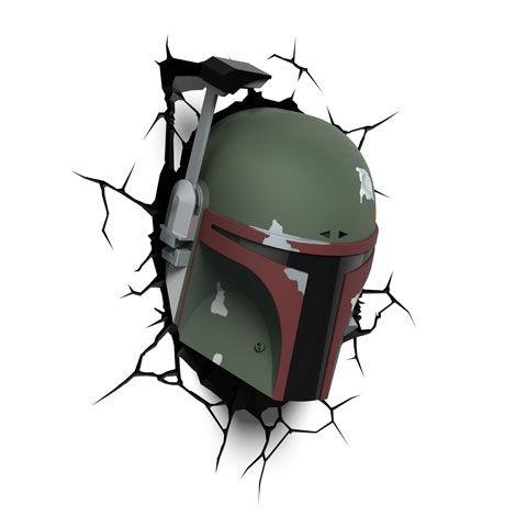 Star Wars Boba Fett 3D Lámpa & Hangulatvilágítás