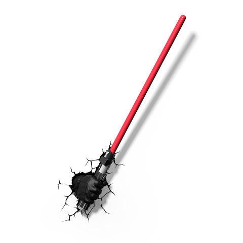 Star Wars Darth Vader Fénykard 3D Lámpa & Hangulatvilágítás