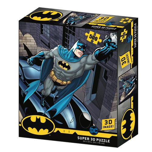 Batman Batmobile puzzle
