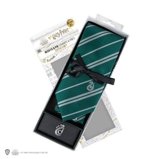 Harry Potter Slytherin Nyakkendő (Deluxe Edition)