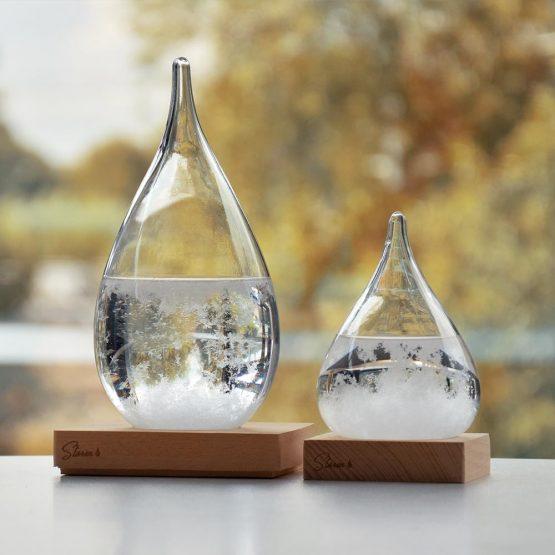 viharüveg asztaldísz