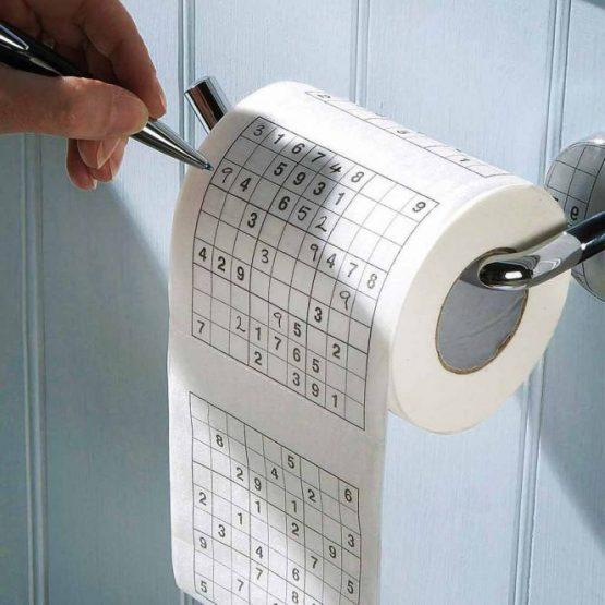 sodoku wc papír