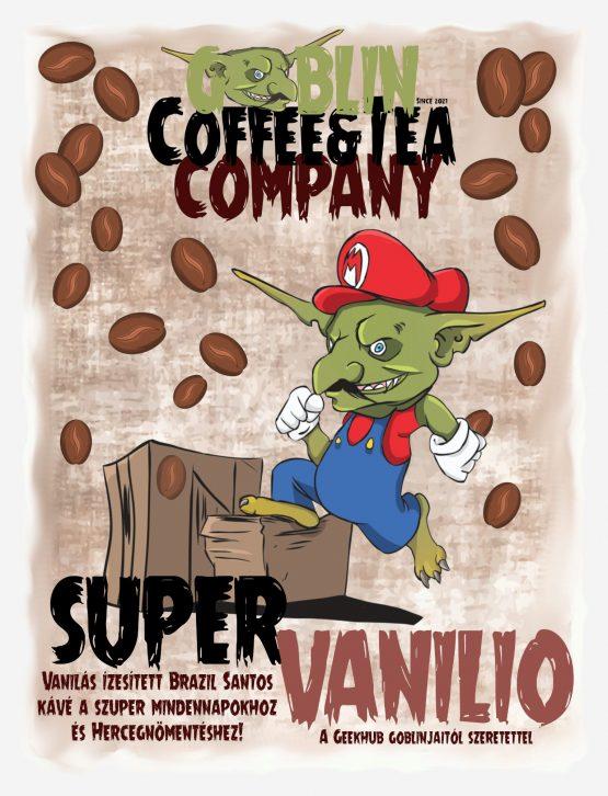 vaníliás kávé super vanillio goblin kávé