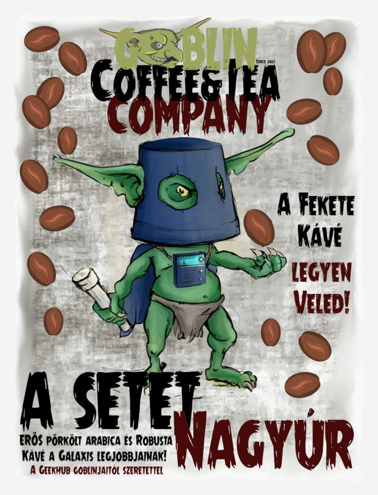 kézműves kávé a setét nagyúr