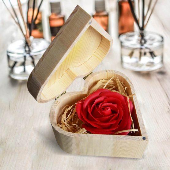 vörös rózsa szappan