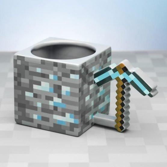Minecraft Bögre XL (Csákány)