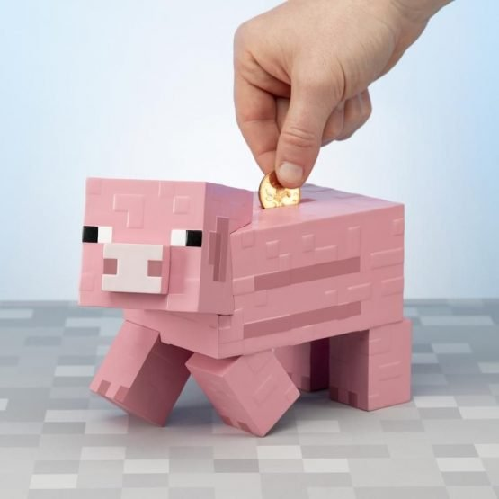 Minecraft malac persely
