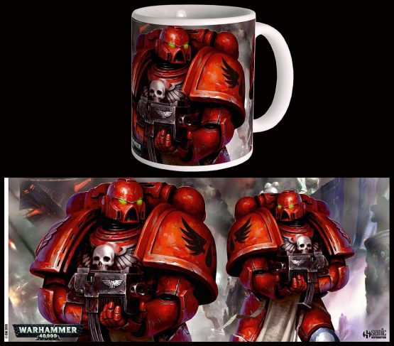 W40K Blood Angels Bögre