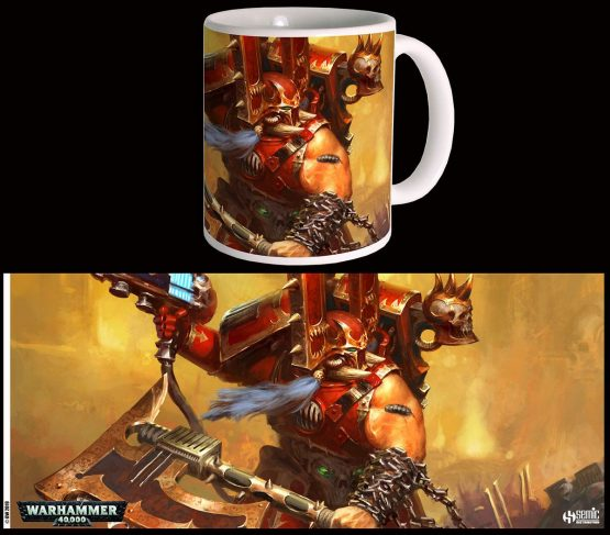W40K Kharn the Betrayer Bögre