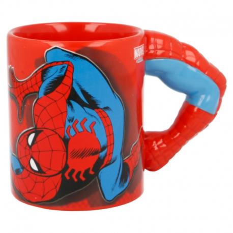 Marvel Spider-Man Bögre (3D Arm)