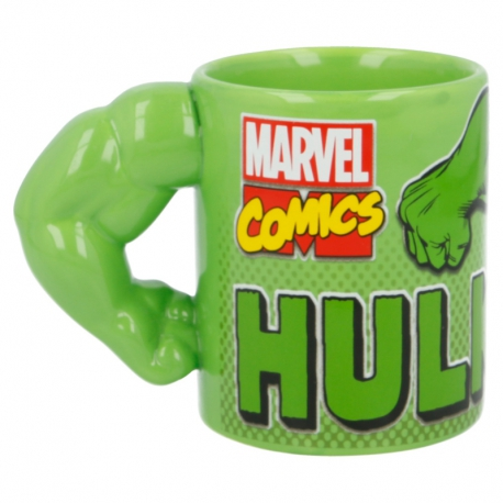 Marvel: Hulk Bögre (3D Arm)