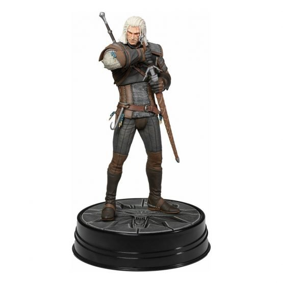 The Witcher Geralt Heart of Stone 24 cm - Szobor