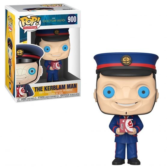 Funko POP! Doctor Who - The Kerblam Man Figura