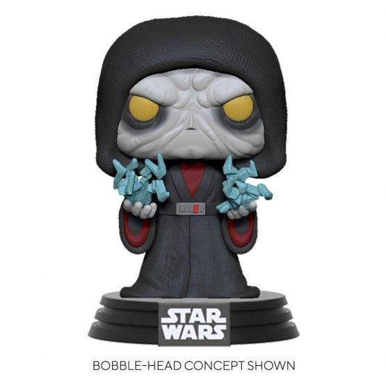 Funko POP! Star Wars Revitalized Palpatine Figura 10cm